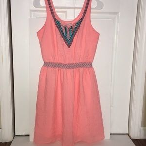 Maurices Neon Orange Dress